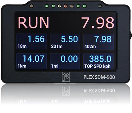 PLEX SDM-500 Dash Display & Logger