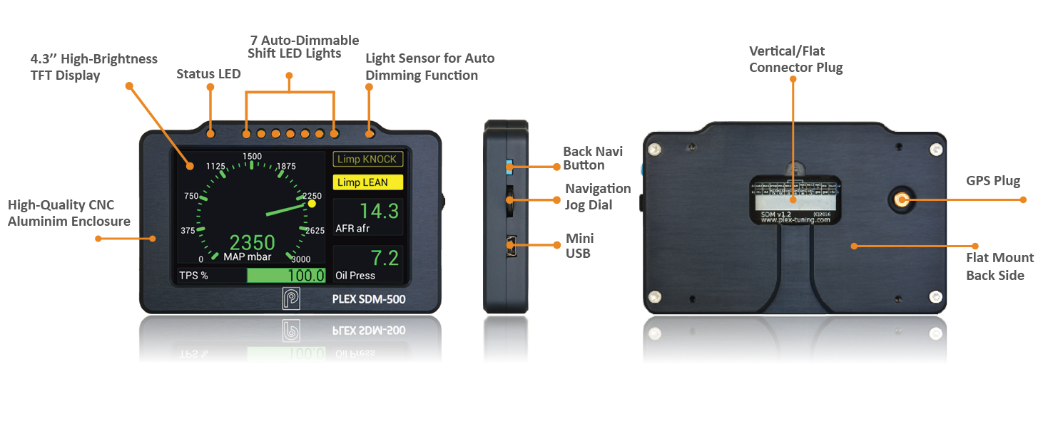 PLEX SDM-500 Display & Logger