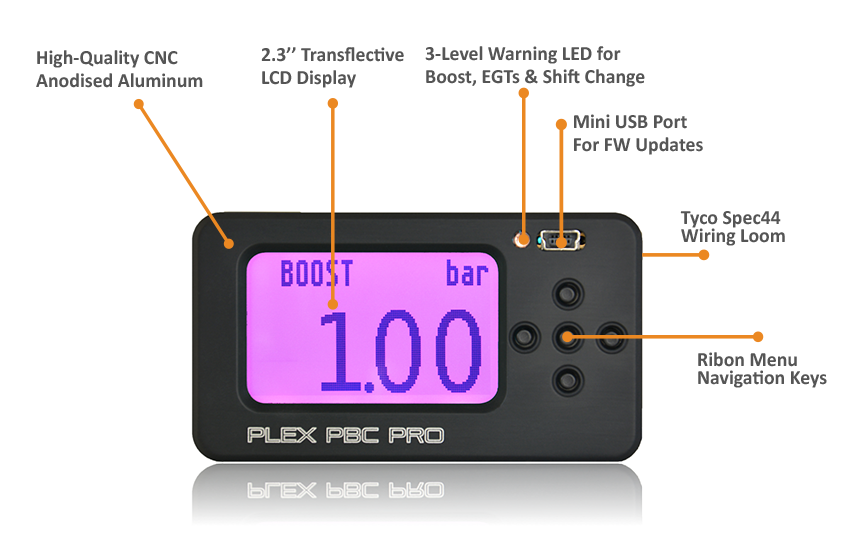 PLEX PBC PRO Boost Controller | Next Gen CAN BUS Boost