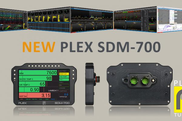 "The New PLEX SDM-700 is Now Available: Introducing our Flagship, Pro-level 7"" Display & Central Logger."