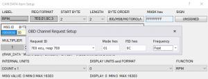 Custom OBD PIDs