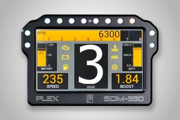 """Introducing PLEX SDM-330®, our New 4.3"""" Pro-level Dash Display Logger that Replaces the Now Discontinued SDM-300 & SDM-500."""